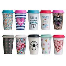 330ml Confetti Travel Mug (double Walled) - Double Silicone Coffee Tea Wall