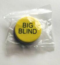 Dealer Button w/ Little Blind & Big Blind Poker Chips ~ New Sealed