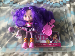 Shopkins - Shoppies - Melodine Doll with accessories - Excellent Condition