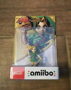 The Legend of Zelda - Link Majora's Mask Amiibo Nintendo - Damaged Package