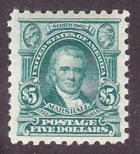 US Scott 480 old $5 Marshall perf 10 M/NH/OG/VF CV $375