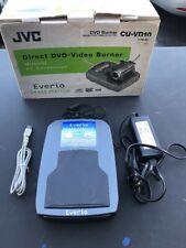 JVC CU-VD10 Direct DVD-Video Burner Everio Share Station
