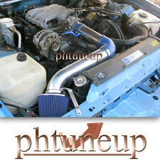 BLUE 1990-1992 PONTIAC FIREBIRD TPI 3.1 3.1L AIR INTAKE INDUCTION KIT + FILTER