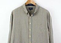 GANT Men Midtown Twill Regular Fit Check Casual Shirt Size 3XL TZ243