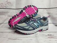 New Balance 412v3 Trail Running Shoes Womens Sz12 Wide Gray Blue Pink WTE412G3