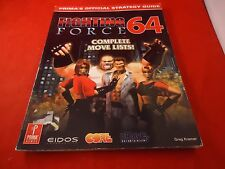 Fighting Force 64 Nintendo 64 N64 Strategy Guide Player's Hint Book