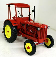 Minichamps 1/18 Scale - 109 153071 Hanomag R35 Tractor 1953 Red Yellow Diecast