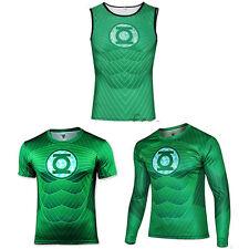 Mens Marvel Superhero GYM Fitness Costume Tops Tee T-Shirt Jersey Cycling Shirts