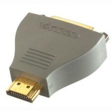 Vivanco DVI-D HDMI Adapter Stecker-Kupplung Kompaktadapter Full HD