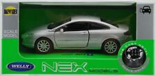 WELLY PEUGEOT 407 COUPE SILVER 1:34 DIE CAST METAL MODEL NEW IN BOX