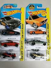 Hot Wheels HW Off-Road #124 of 250 VW Volkswagen Caddy 6 car lot Pictures of act