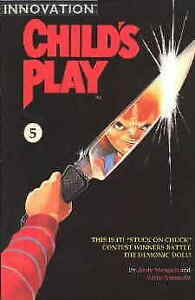 Child's Play: The Series #5 VG; Innovation | Last Issue - low grade comic - we c