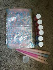 Cotton Candy Floss Flossine Sugar Machine Maker Supplies Cones Bags Lot