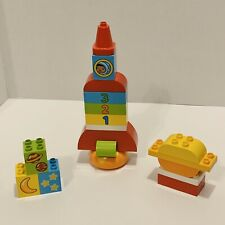 LEGO Duplo 10815 My First Rocket - Space - Toddler Preschool - 18 pcs Complete