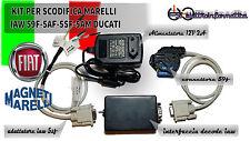 INTERFACCIA SCODIFICA IAW 59F 5AF 5SF 5AM DUCATI + CONNETTORE 59F BOX IN ABS