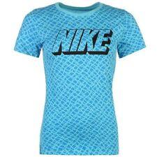 Nike Crew Neck Short Sleeve Plus Size T-Shirts for Women