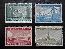 Sowjetunion Mi 665-671 * , Sc 706-712 , Ausbau, Unvollständig, Qualitätsgrad II