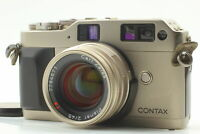 [Exc+4] Contax G1 Green Lavel 35mm Film Camera + Planar 45mm f2 Lens From JAPAN