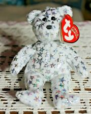 Ty Beanie Babies - Jingle Beanies - The Beginning Ornament - Bear