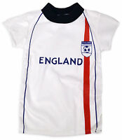 Boys Short Sleeved England Football T-Shirt New Kids Euros Top Age 2 - 13 Years