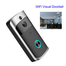 Smart Wireless WiFi Video Camera Door Phone Doorbell Home Security Night Vision