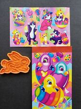Lisa Frank Kitty Stickers Notepad Bunny Game