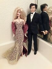 JAMES BOND Barbie and Ken fashion doll giftset loose no box