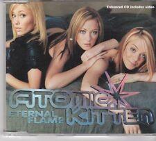 (EW130) Atomic Kitten, Eternal Flame - 2001 CD