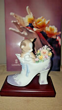 Lladro *A Cosy Fit* mint in box *Retail$359 *Free Exped. Ship*
