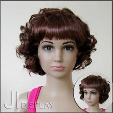 JI DISPLAY Kinder Perücke Wig für Kinderpuppen Mannequin Schaufensterpuppe 005-3