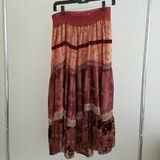 Stevie Nicks Style Beautiful Rare Gypsy Skirt Petro Zillia Original $340 Nwt New