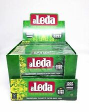 Aleda King Size Rolling Papers Sealed (20 Pack) Transparent full box Rizla