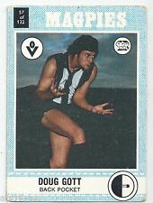 "1977 Scanlens (57) Doug GOTT Collingwood "" """
