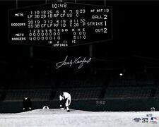 Sandy Koufax Los Angeles Dodgers Autographed 8x10 Photo(RP) No Hitter Scoreboard