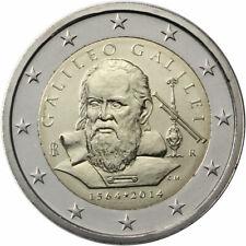 "Italy 2 euro coin 2014 ""Galileo Galilei"" UNC"