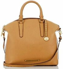 ❤️BRAHMIN DUXBURY SATCHEL NATURAL NEPAL TAN CAMEL SADDLE LEATHER ~ CHARLESTON❤️