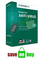 Kaspersky Antivirus 2020 - 1 User, 1 PC, 1 Year (Windows)