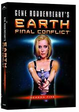 Earth - Final Conflict Series 5 - The Complete Fifth Season New UK Region 2 DVD