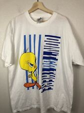 "Vintage Tweety Bird ""Don't Go There""  Looney Tunes Tee Shirt sz XL 1997"