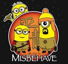 Despicable Me Minions as Firefly Joss Whedon Satire Ript Mens Shirt Brand New