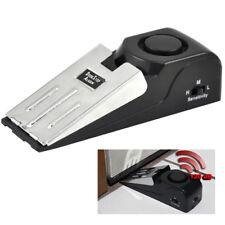 Home Security Wedge Door Stop Alarm System Device Intruder Alert Detection PJ