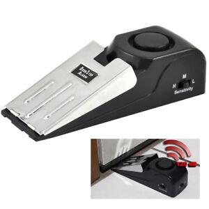 Home Security Wedge Door Stop Alarm System Device Intruder Alert DetectioEX