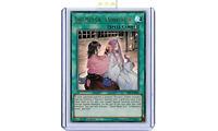 SAST-EN063 Ghost Meets Girl - A Shiranui's Story Ultra Rare 1st Ed YuGiOh Card
