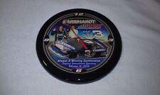 Dale Earnhardt Jr. NASCAR Racing Clock, Black, Hendrick Motorsports