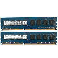 For Hynix 16GB 2x8GB PC3-12800 DDR3-1600 240p Intel  Low Density Desktop Memory