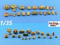 1/35 Military Bags Scale Modelling Resin Stowage Kit Diorama Accessories Kit 11