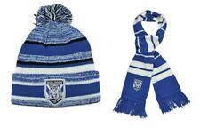 8e755e3ec05 SET OF 2 CANTERBURY BULLDOGS NRL TEAM DYNAMO BEANIE   OXFORD SCARF