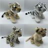 """18"""" Lion Tiger Cheetah Plush Teddy Animal Toy Soft Cute Decoration NEW WITH TAGS"""