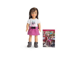 NIB AMERICAN GIRL MINI DOLL GRACE & ABRIDGED BOOK ENGLISH COLLECTOR EDITION 2015