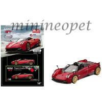 TSM MINI GT MGT00050 PAGANI HUAYRA ROADSTER 1/64 DIECAST MODEL CAR RED